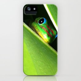 Eyes in the Grass iPhone Case