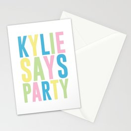 Kylie Minogue Stationery Cards