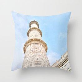 Taj Mahal India Throw Pillow