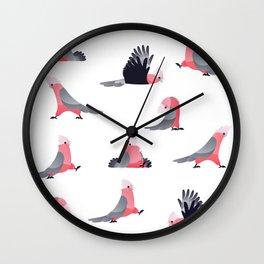 parrot pattern ~ 02 Wall Clock