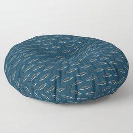 Pattern: Great White Shark ~ (Copyright 2015) Floor Pillow