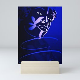 Ebony Blue Mini Art Print