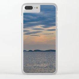Landscape Scene from Ipanema Beach Rio de Janeiro Brazil Clear iPhone Case
