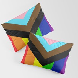 LGBTQ+ Pride Flag Inclusive (LGBTQ+ Pride, Gay Pride) Pillow Sham