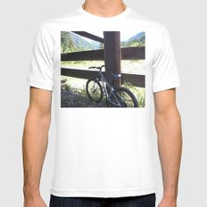 The View Beyond Mens Fitted Tee MEDIUM White