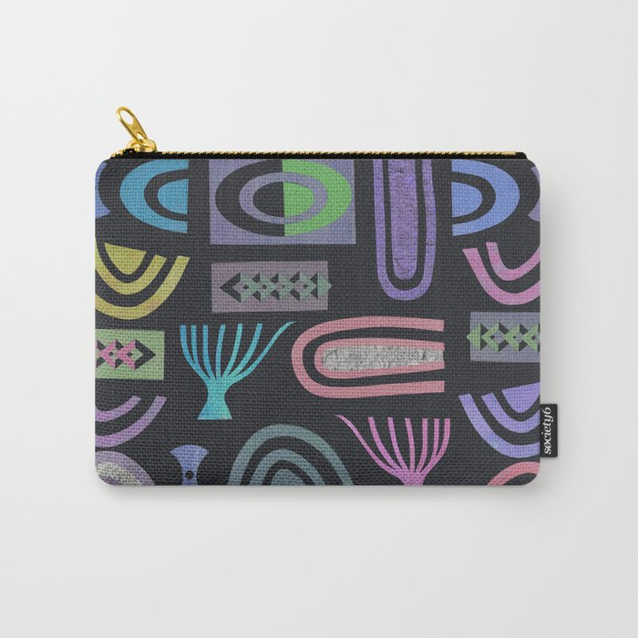 Dark bits Carry-All Pouch