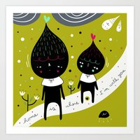 Home is where I'm with YOU Art Print