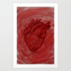 心の臓[heart] Art Print