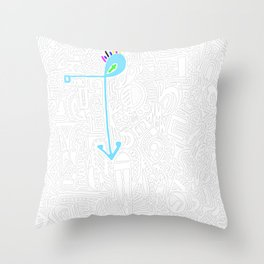 Doodle This! Throw Pillow