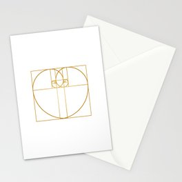 Heart of Gold Stationery Cards