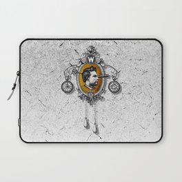 The Watchmaker (white version) Laptop Sleeve