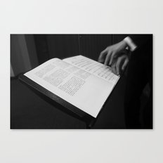 Conducting Canvas Print