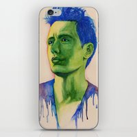 james franco iPhone & iPod Skins featuring James Franco by Kristy Holding