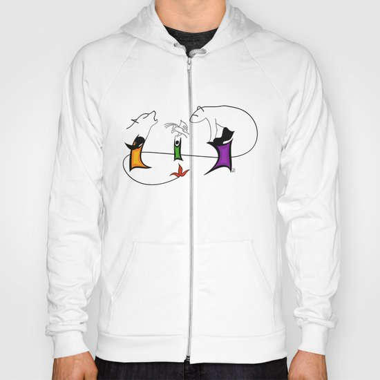 Three ghosts Hoody