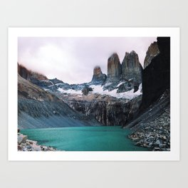 [№5] Pastel Patagonia Art Print