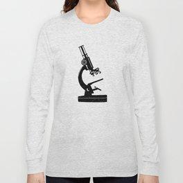 Old Light Microscope Long Sleeve T-shirt