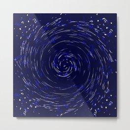 Hurricane......Blue Metal Print