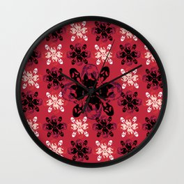 Mean Bitches - Gail Weather Scream Flower Wall Clock
