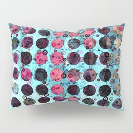 MELANGE OF BLUE and ROSE Pillow Sham