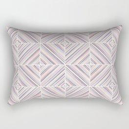 Herringbone Diamonds - Mauve Rectangular Pillow