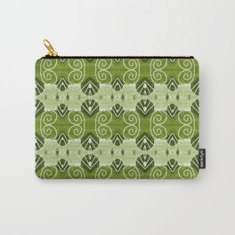 Palermo green venti pattern Carry-All Pouch