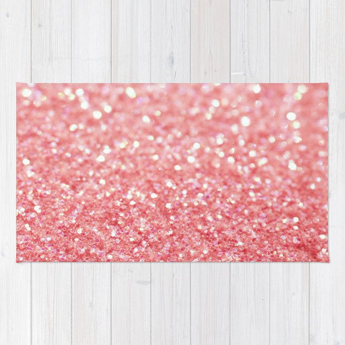 Pink Sparkle Rug