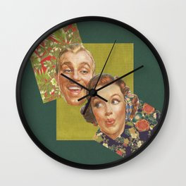 Floras Wall Clock