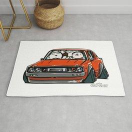 Crazy Car Art 0147 Rug