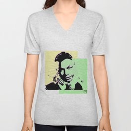 Nat King Cole Unisex V-Neck