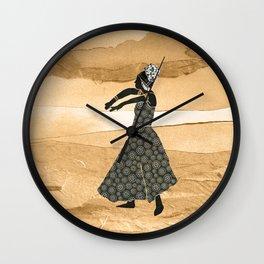 African Dancer 1 Wall Clock