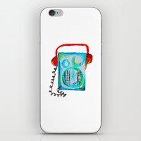 radiohead iPhone & iPod Skins featuring Radiohead by anjics