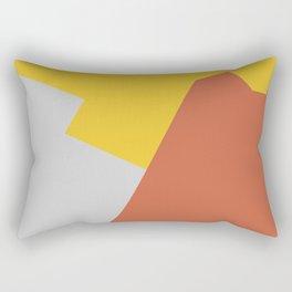 Minimalism Abstract Colors #8 Rectangular Pillow
