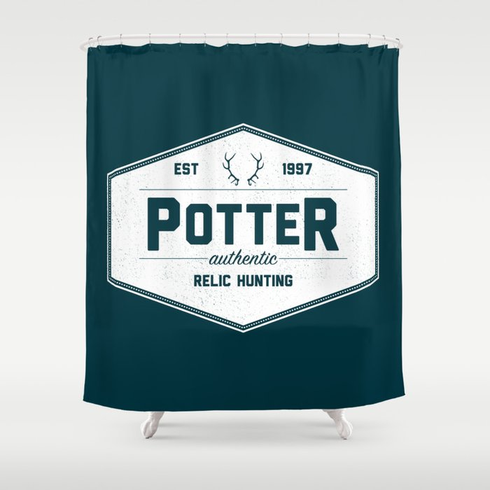 Potter Authentic Relic Hunting Shower Curtain by dorothytimmer ...
