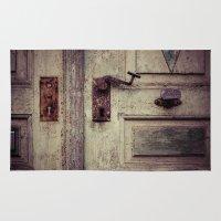 door Area & Throw Rugs featuring door by Deviens