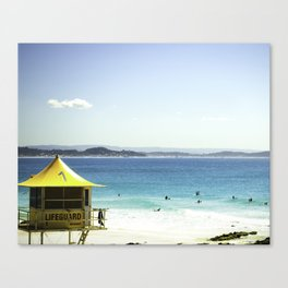 a day at the Beach 7 Canvas Print
