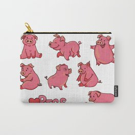 For the love of Pigs Carry-All Pouch