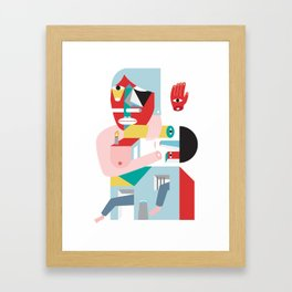 Babu Framed Art Print