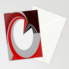 Colours in a circle Stationery Cards