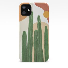 Abstract Cactus I iPhone Case