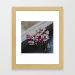 The quiet morning Framed Art Print