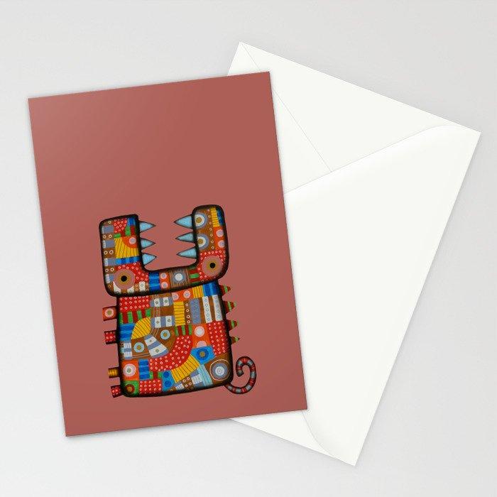 Dog hippo Stationery Cards