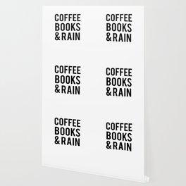 Coffee Books And Rain Wallpaper