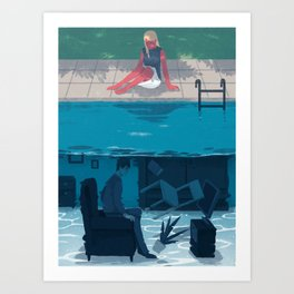 Under Art Print