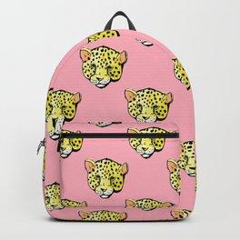 pink jaguar Backpack