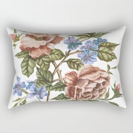 Rustic Florals Rectangular Pillow