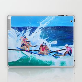 Surf Boat Rowers Laptop & iPad Skin