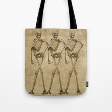 walking skeleton beauties Tote Bag