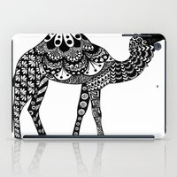camel iPad Cases featuring Camel by Sophie H.
