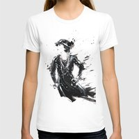 coco T-shirts featuring Coco by Sasha Spring Illustration