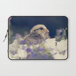 Chicks and Flowers Laptop Sleeve